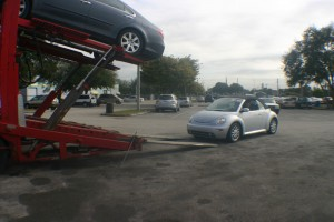 Car Shipping from Boston to Miami