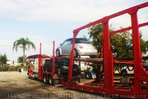 Car Transport during summer