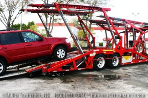 Car Transport during summer