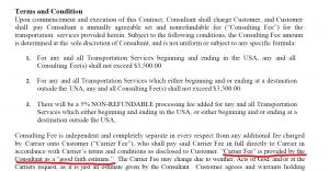 New Car Transport Scam